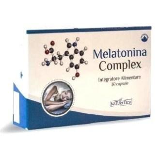 Melatonina Complex regolazione sonno Naturetica