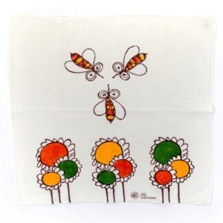 Strofinaccio Pascucci con girasoli e api di Gianfranco Zavalloni