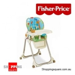Rainforest High Chair Black Dining Sets With 6 Chairs Fisher Price Online Shopping Square Com Au Bargain Discount
