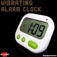 Vibrating LCD Pillow Alarm Clock - Online Shopping ...