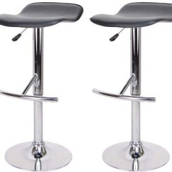 Nursery Chair Australia Round Stool Cushions 2x Bar Euro Design Kitchen Gas Lift - Black Online Shopping @ Square.com ...
