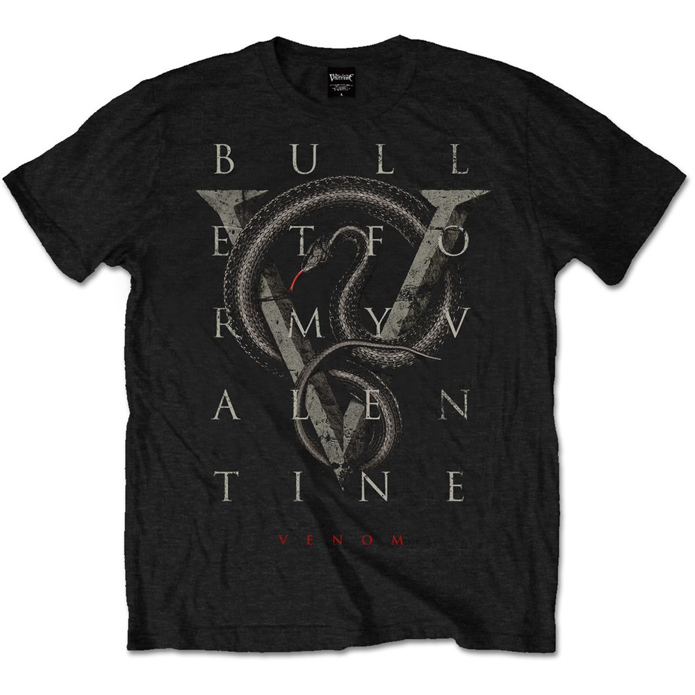 Bullet For My Valentine Mens T Shirt Tee Album Covers