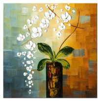 1-pc Floral Canvas Wall Art : Cheap Oil Paintings ...