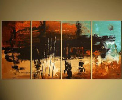 Home Art Abstract Giclee Canvas Prints Modern Framed Wall For Decor Perfect 3 Panels Decorations Paintings