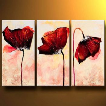 Three Piece Wall Art Great About Remodel Home Decor Ideas With