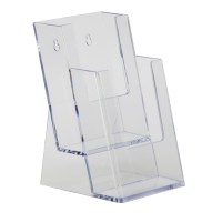 5x7 Slant Back Acrylic Sign Holder - Buy Acrylic Displays ...