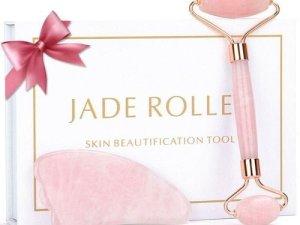 Jade Roller Guasha Board Double Visage rouleau