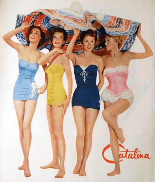 swimsuits, vintage wear, bikini