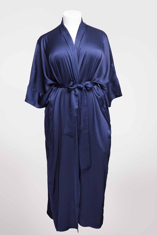 Sablier Midnight Blue Long Robe