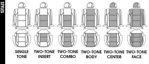 NISSAN ARMADA Katzkin Leather Seat Upholstery, 2012 (slip
