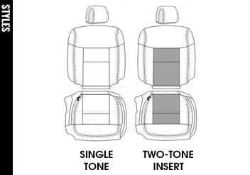 Ford F150 Crew Cab Lariat Katzkin Leather Seat Upholstery