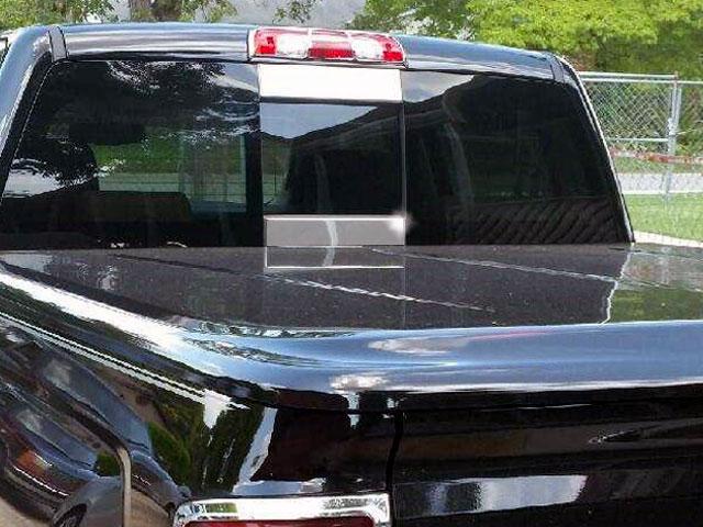 Chevrolet Silverado Rear Window Accent Trim 2014 2015