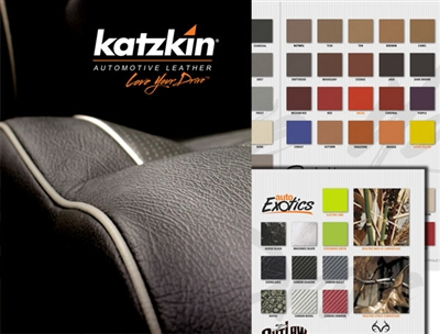 Katzkin Leather Color Sample Book Aftermarket Leather