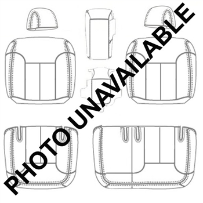 Chevrolet Tahoe 2 Door Katzkin Leather Seat Upholstery (3