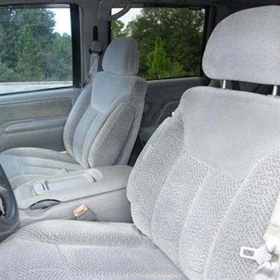 Chevrolet Tahoe 4 Door Katzkin Leather Seat Upholstery (2