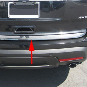 Ford Explorer Chrome Tailgate Trim 2011 2012 2013 2014