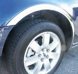Ford Five Hundred Chrome Wheel Well Fender Trim 2005