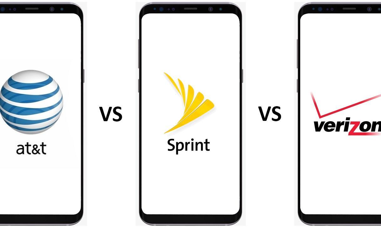 AT&T vs Sprint vs Verizon
