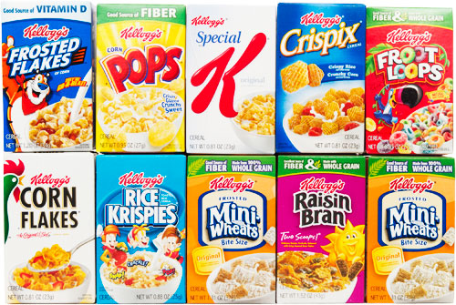 kellogs cereal