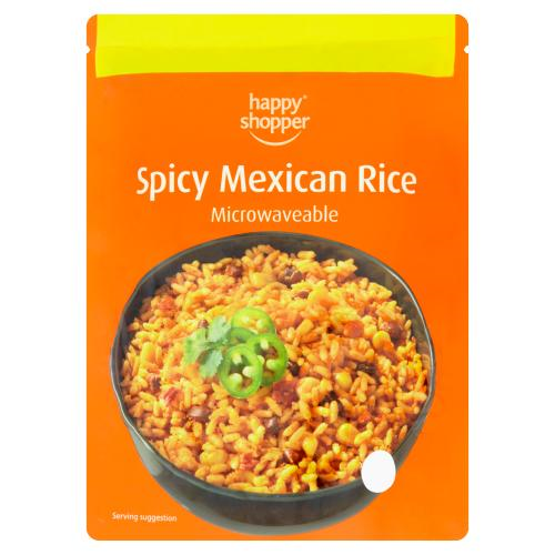 happy shopper spicy mexican rice microwave 250g