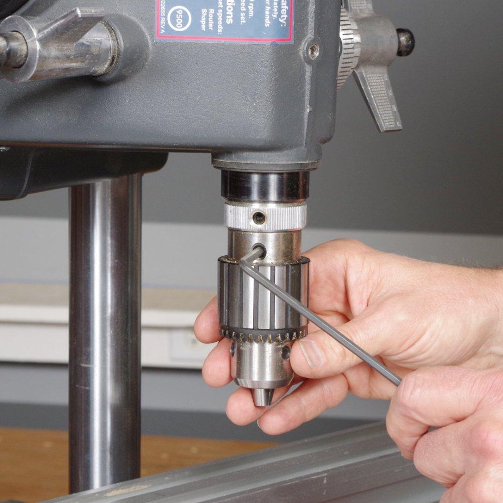 medium resolution of install drill chuck