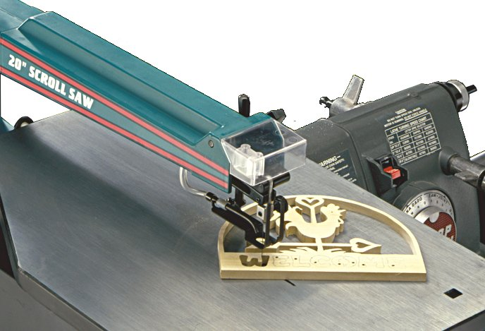 Shopsmith Scroll Saw Blade Change System