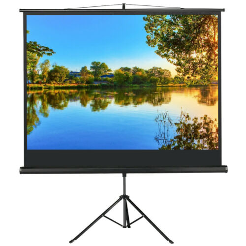 Projector Screen with Stand Tripod UK