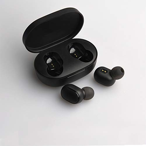 ZapTech Air Mini Airdots Wireless Bluetooth Earphones Headphones with Wireless Charging Case | Fully Compatible with Mi Xiaomi Readmi/Air Dots/and All Android and iOS Mpbile Phones