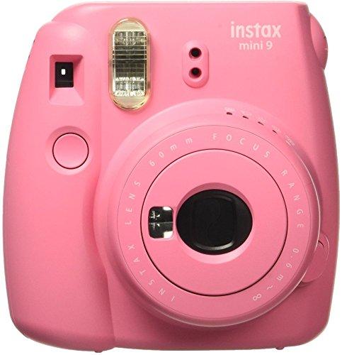 Fujifilm Instax Mini 9 Instant Camera (Flamingo Pink)