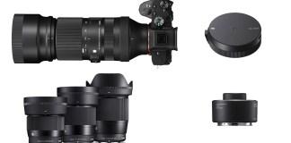 5 Sigma SLR Camera Lenses $200