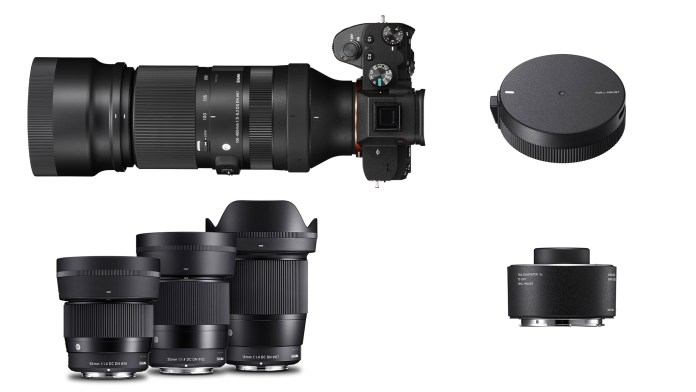 5 Sigma SLR Camera Lenses $200