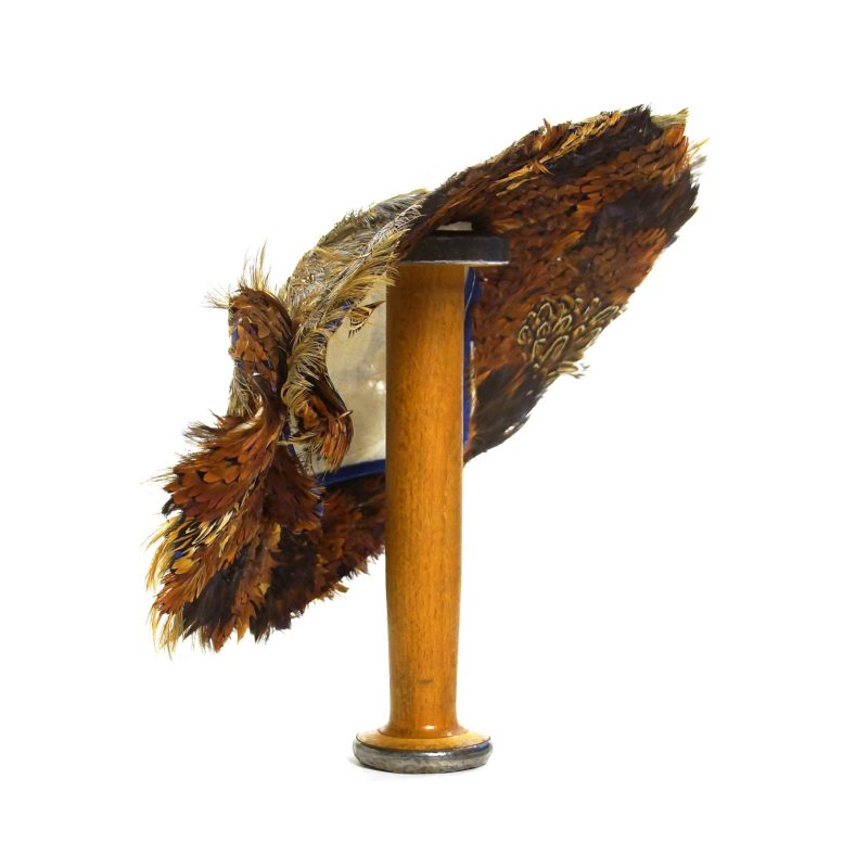 Vintage 50s Pheasant Feather Hat
