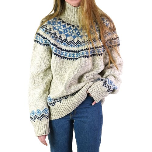 Ralph Lauren Wool Fair Isle Sweater Size Large