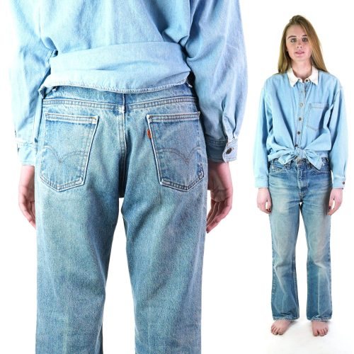 Levi's Orange Tab 575 Jeans Made in the USA Unisex