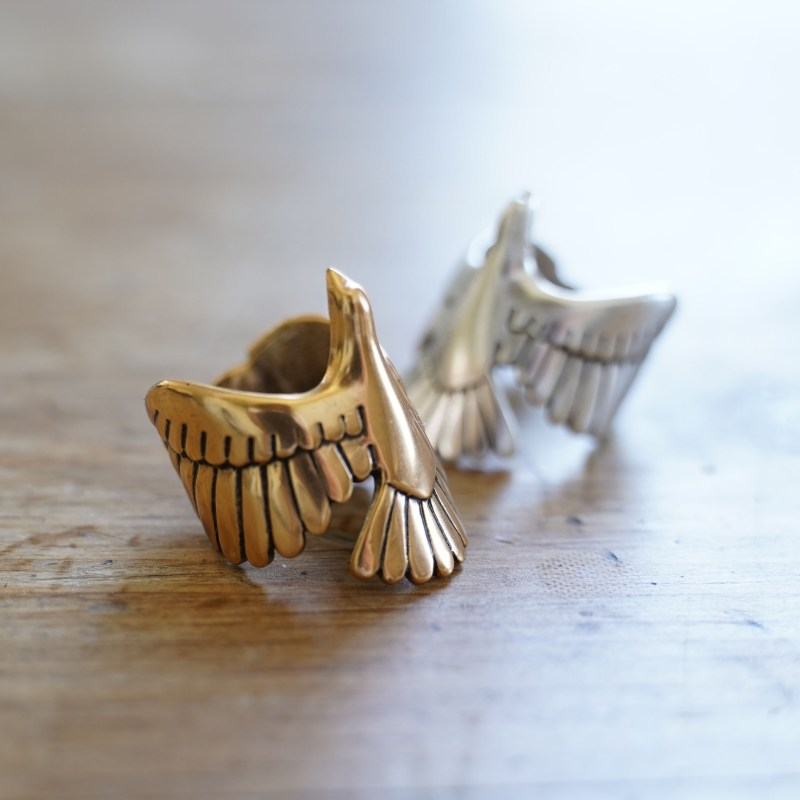 Dove Ring by ArtMiners 18k Gold Plated