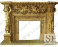 Marble Fireplace, Marble Fireplaces, Mantel Fireplace