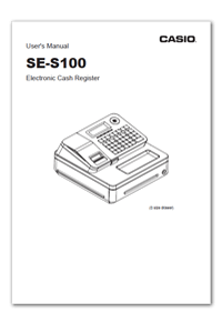 Casio SE-S100 Instructions Download