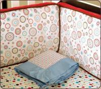 Baby Girlcolorfulcustom Nursery Decor Baby Bedding ...