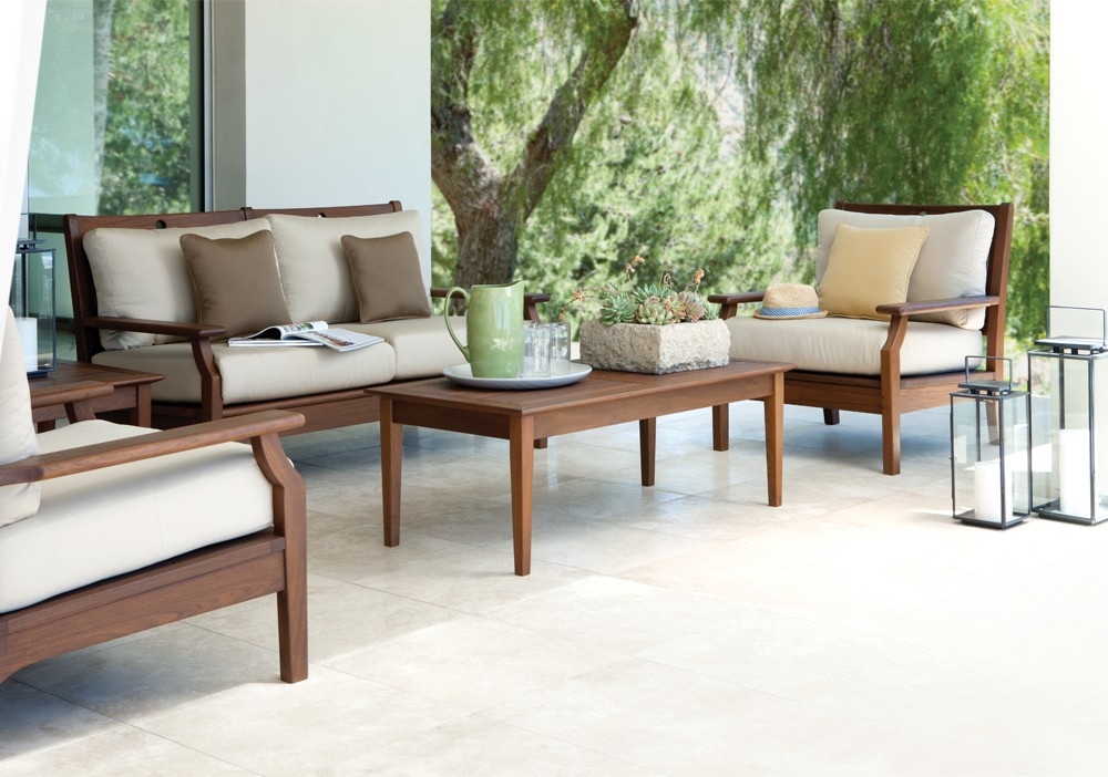 opal deep seating collection wood