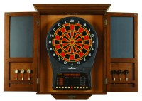 Brunswick Dart Board With Cabinet