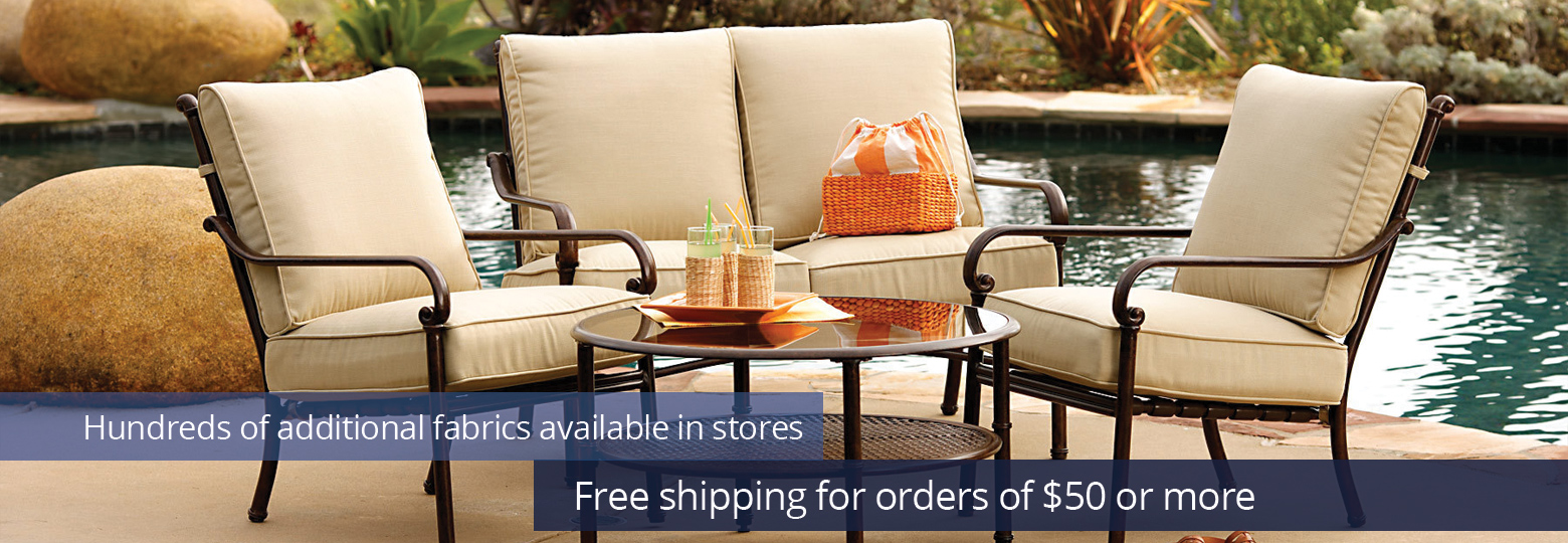 patio cushions wrought iron the