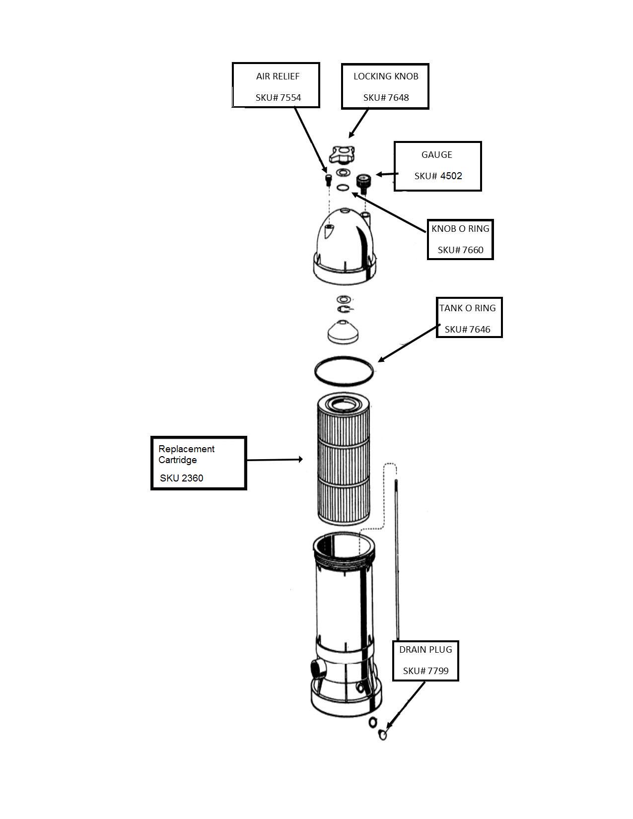 Swimpro Missile Filter