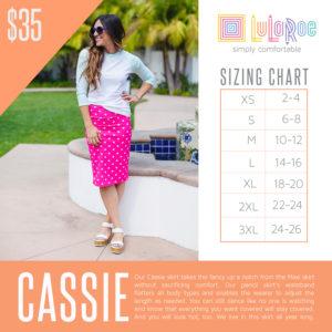 Cassie Sizing