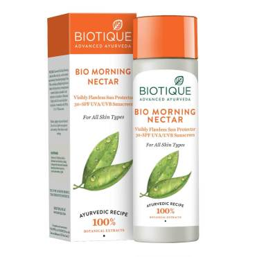 Biotique Nectar - Best Sunscreen Lotion in India