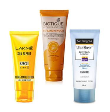 Best Sunscreen Lotion in India