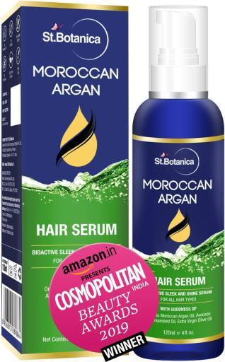 St. Botanica Moroccan Argan hair serum
