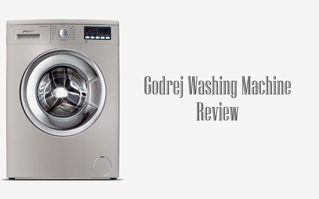 Godrej Washing Machine Review | Detailed Analysis
