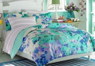 Teen Vogue Bedding Watercolor