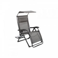 Xl Zero Gravity Chair With Canopy Sliding Pillow Folding Side Table Black And White Chairs Living Room Sale Prices Deals Canada S Cheapest Shoptoit