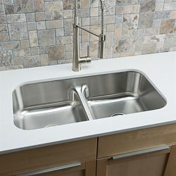 hahn kitchen sinks mechanical scale sink ss084 classic chef series stainless steel double bowl low divide